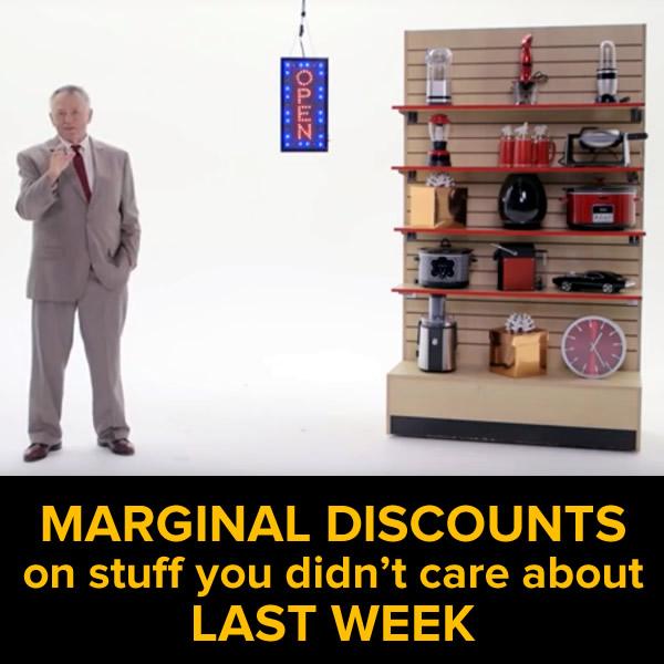 marginal discounts