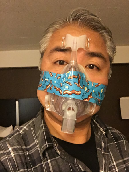 joey devilla inprovised duct tape cpap mask strap