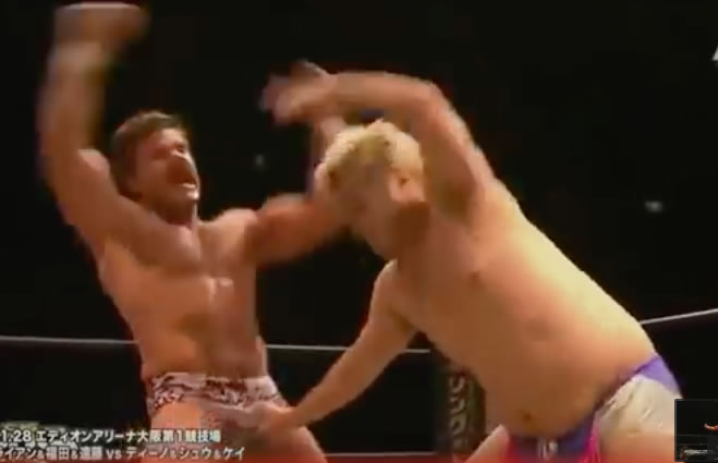 joey ryan's dick move