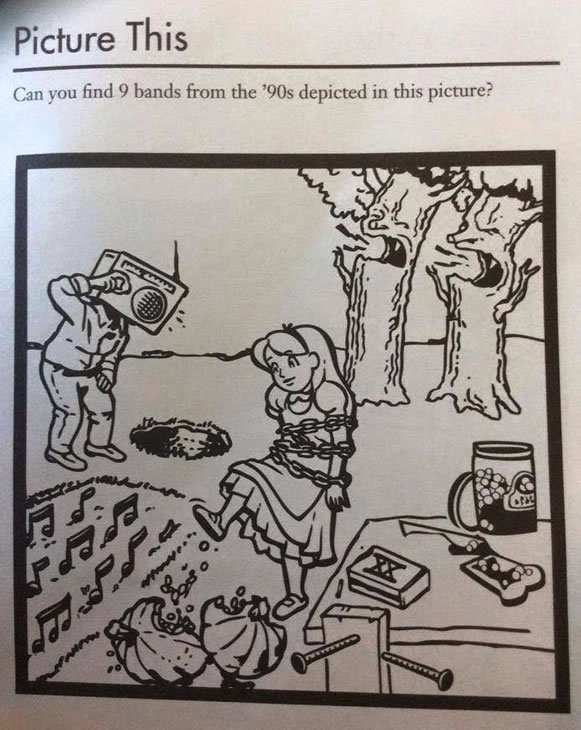90s band challenge