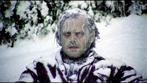 frozen jack nicholson in the shining