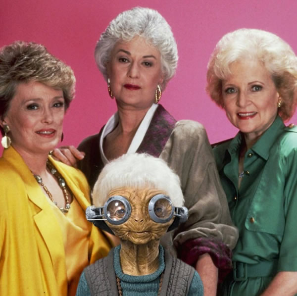 golden girls - the force awakens