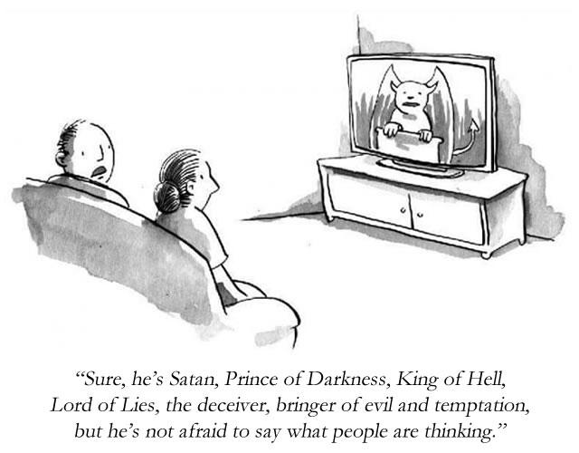 satan cartoon 1