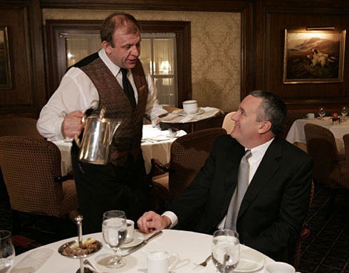 bill swanson and waiter