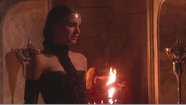padme leather dress