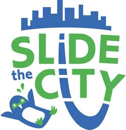 slide the city logo