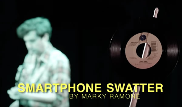 smartphone swatter by marky ramone