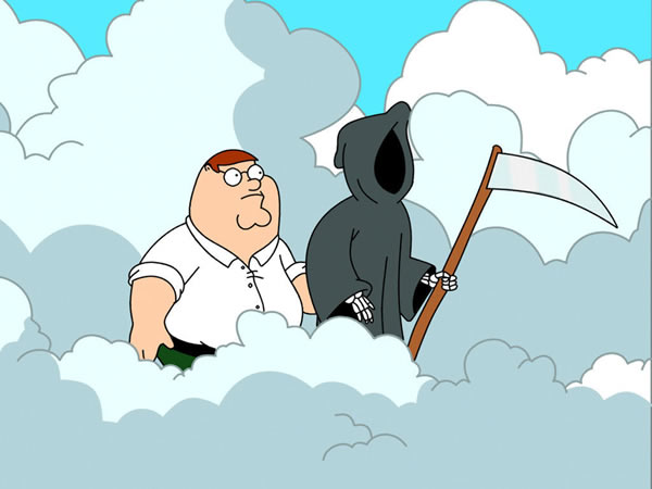 peter griffin and death