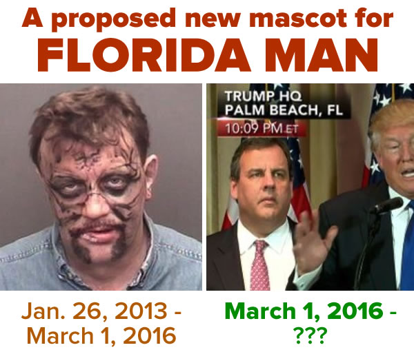 proposed new mascot for florida man