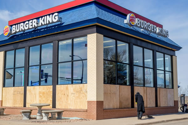 boarded burger king