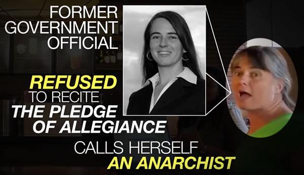 calls herself an anarchist