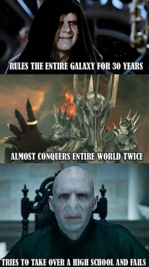voldemort the lightweight