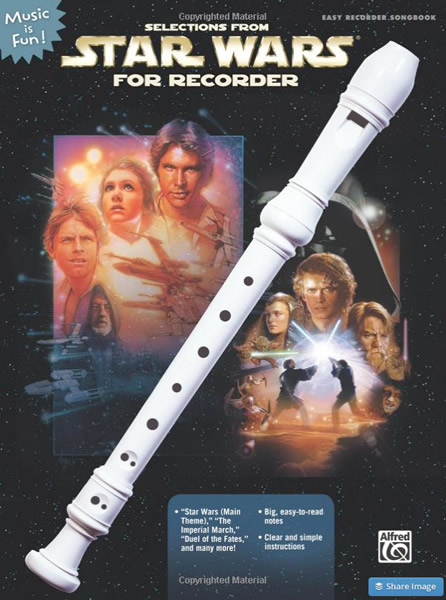 star wars for recorder