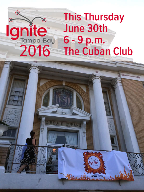 ignite tampa bay 2016