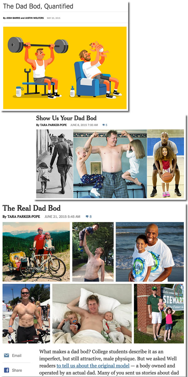 nyt of dad bod
