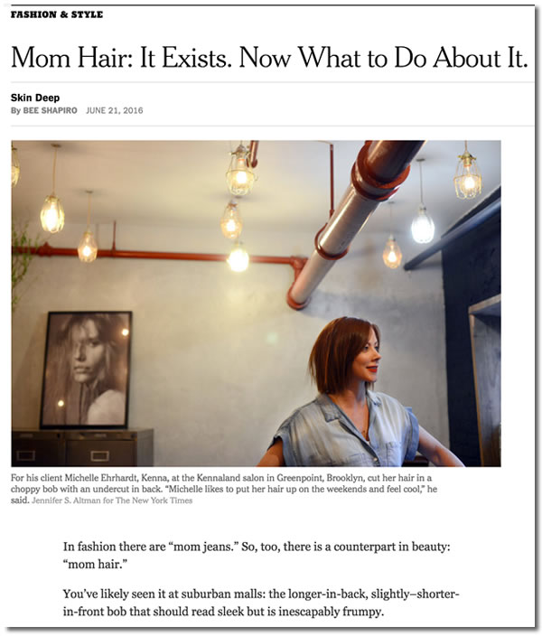 nyt on mom hair