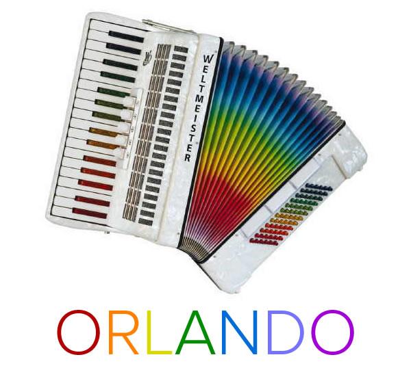 orlando rainbow accordion