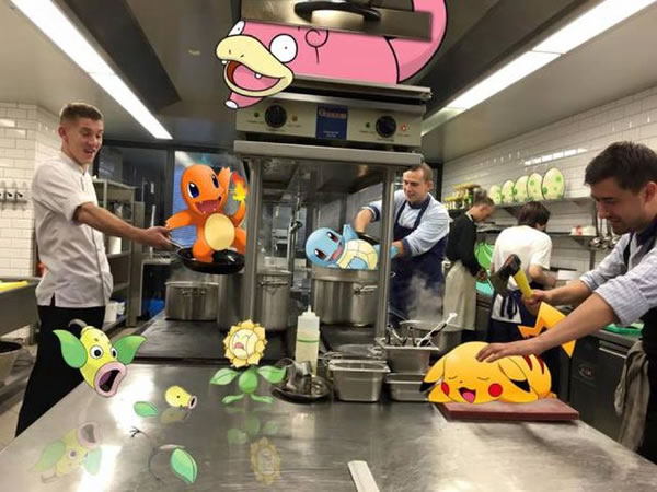 pokemon kitchen