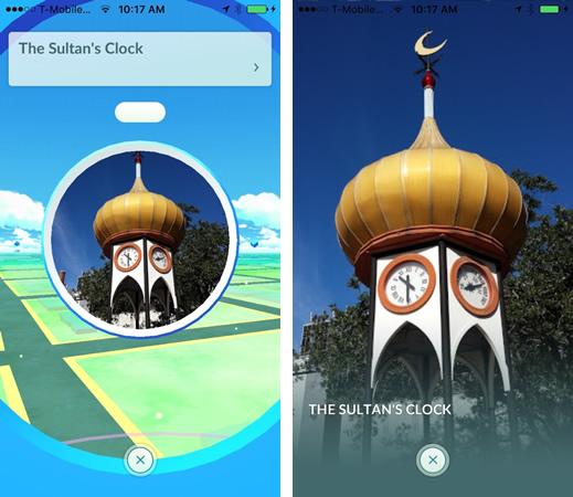 sultans clock - pokemon go