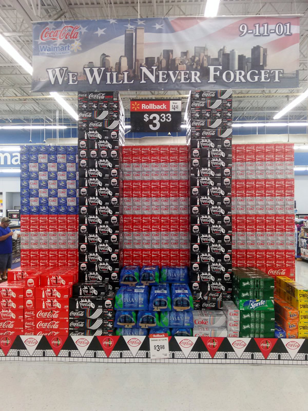 coke products never forget