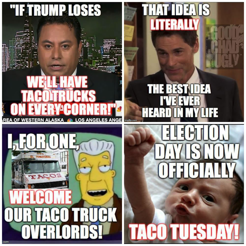 election day is now taco tuesday