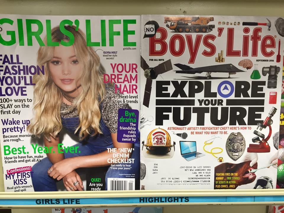 girls life - boys life