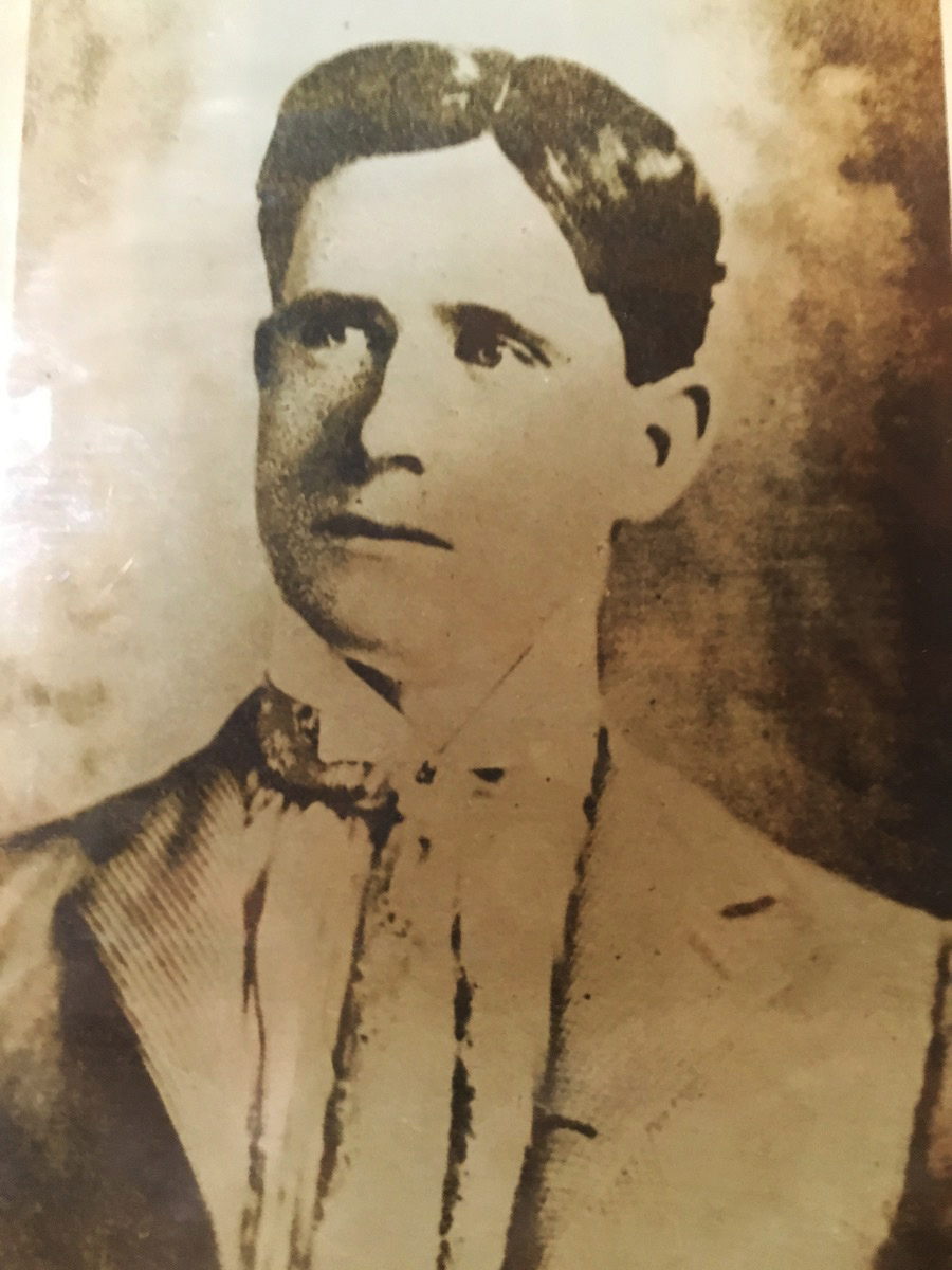 Antique photo of James O'Hara, Joey deVilla's great-grandfather.