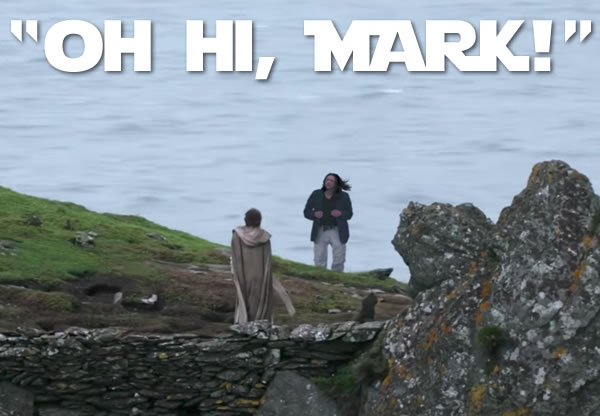 Oh Hi Mark When Star Wars Meets The Room The