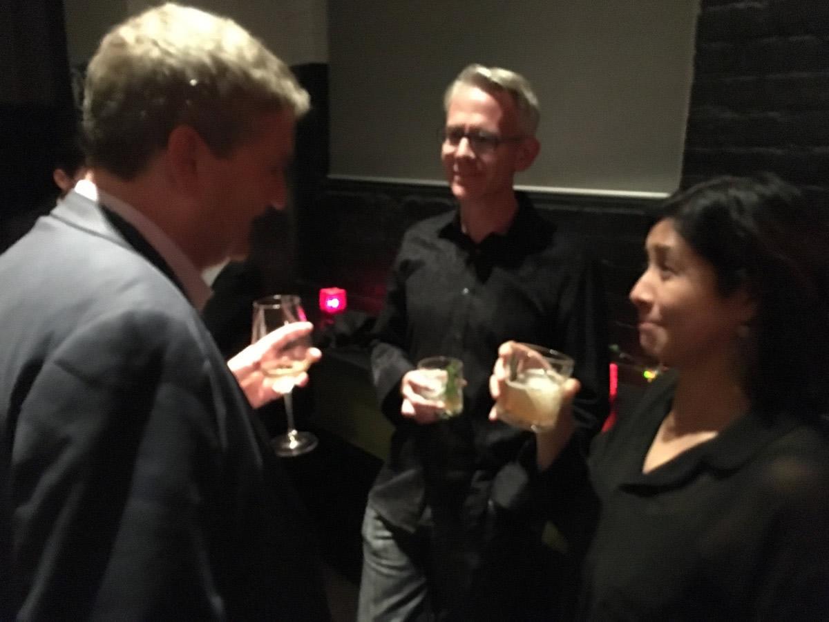 Kevin Matte, Eldon Brown, and Eileen deVilla.
