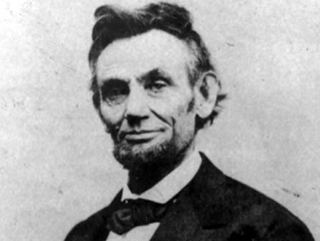 Photo: Abraham Lincoln.