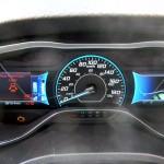 Lit dashboard on C-MAX Energia