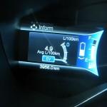 Fuel economy readout