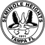 Seminole Heights' seal, which depicts a two-headed alligator